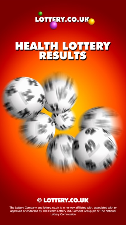 Health Lottery App screenshot-0