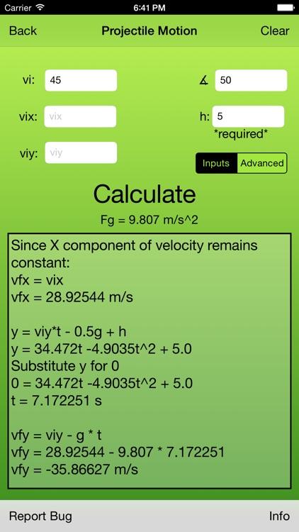 Physics Calculator Pro