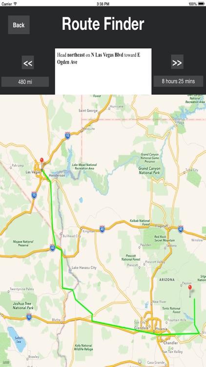 Driving Directions  (driving, Transit, Walking modes) screenshot-4