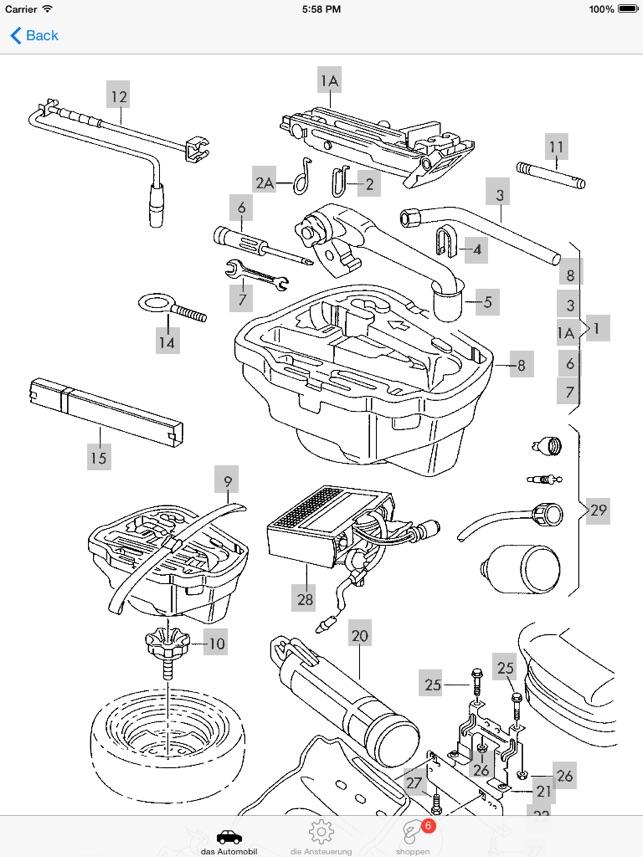 Skoda Teile und Diagramme im App Store