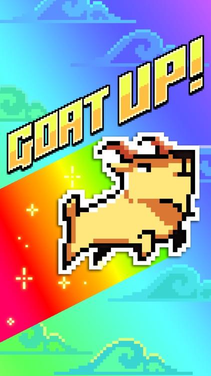 Goat Up! Mountain Goats Climb Timber Trees screenshot-4
