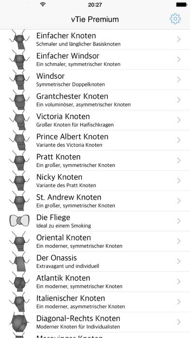 Screenshot for vTie Premium - Krawatte binden zu allen Gelegenheiten wie Hochzeit, Vorstellungsgespräch, Bewerbung oder bei Geschäftsterminen in Austria App Store