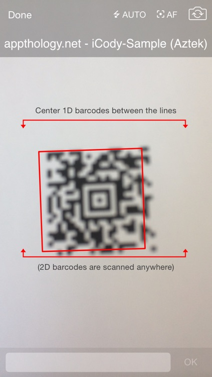 iCody WiFi Barcode Scanner screenshot-1