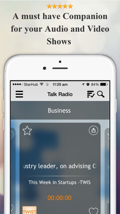 OIDAR - Podcast Player and Playlist Manager For FM Stations, NPR , CNN, Video & Talk Radio screenshot-0