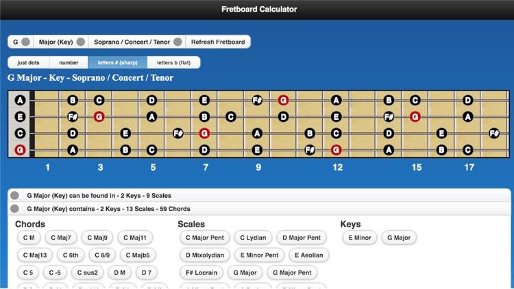 Fretboard Calculator screenshot-4