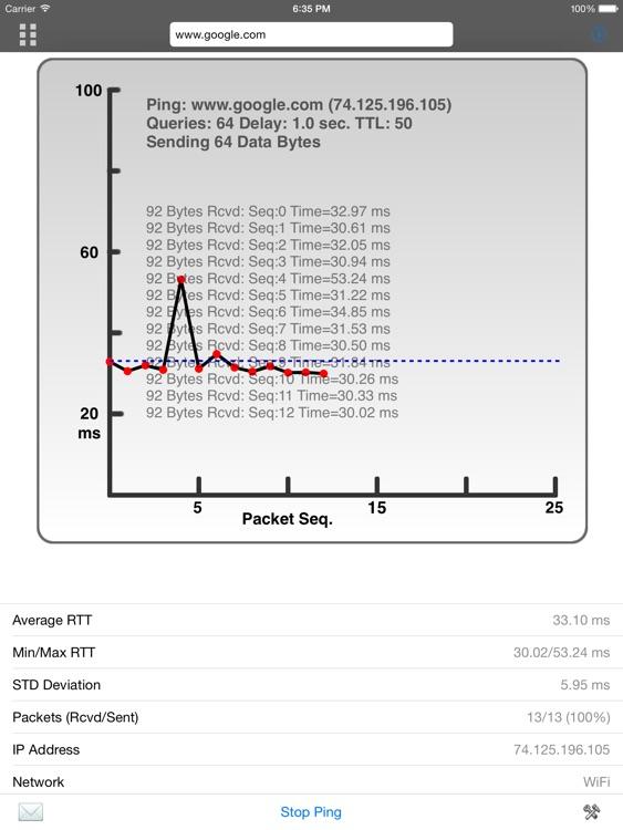 Net Master HD - IT Tools & LAN Scanner screenshot-3