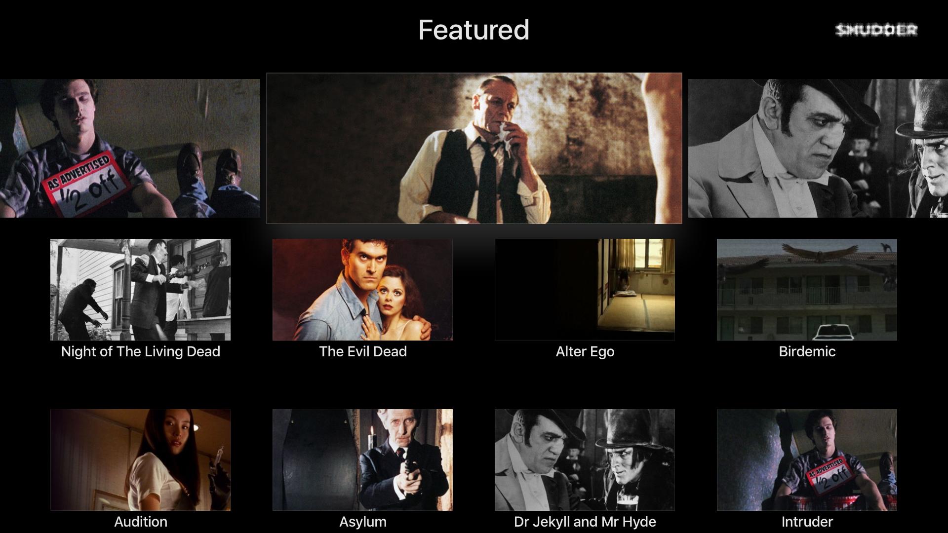Shudder: Horror & Thrillers screenshot 10