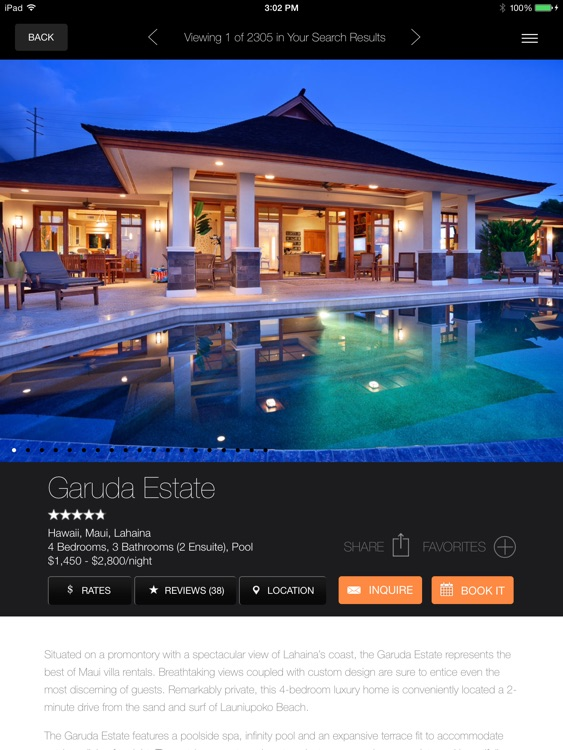 Luxury Retreats Ipad screenshot-3