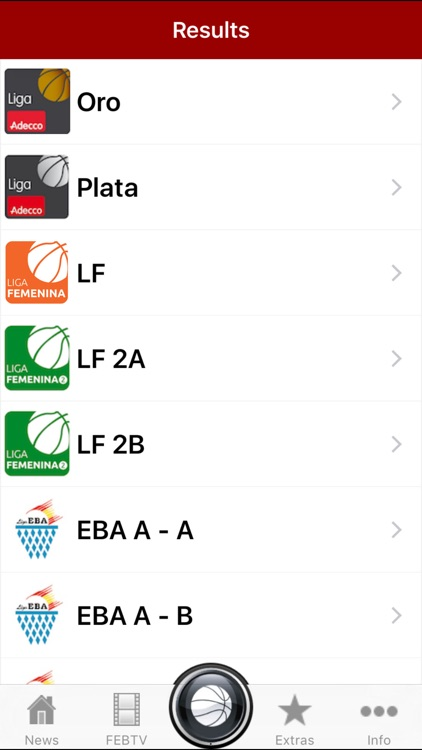 Spain Basketball League Scores screenshot-4
