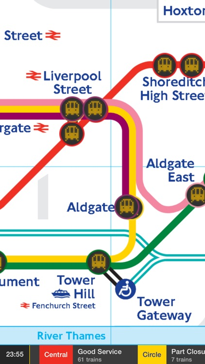 Tube Map Live screenshot-0