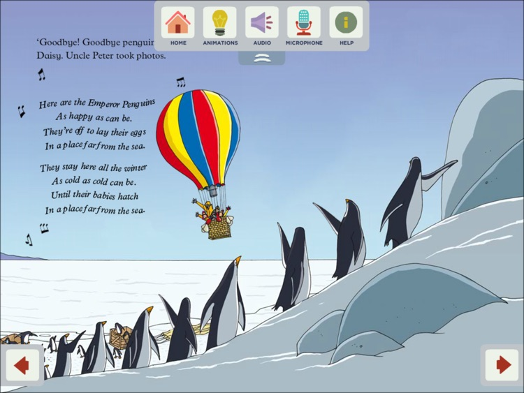 Uncle Jack and the Emperor Penguins - ELI