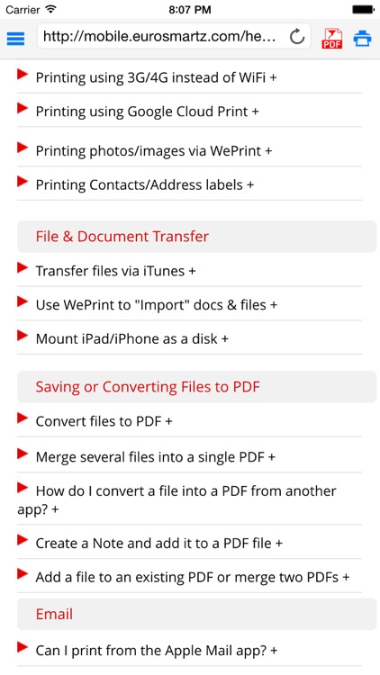 Save2PDF for iPhone screenshot-4