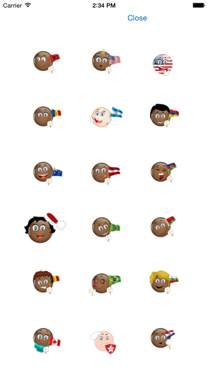 Black Emojis screenshot-1