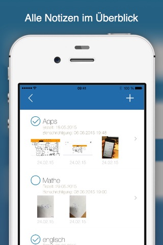 easyNote screenshot 1
