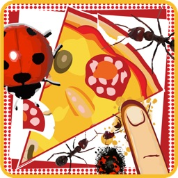 Pizza Game :Crush the insects and save your pizza from Insects Attack - لعبة سحق الحشرات وحفظ البيتزا