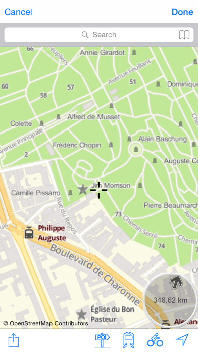 Père Lachaise Cemetery : Interactive Map for Windows