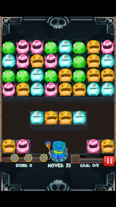 Monster Strikes Free 2 by Lei Shan (iOS, United States