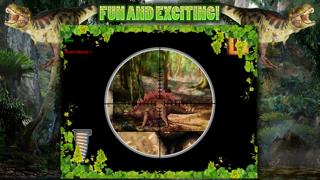 Dinosaur Hunt Sniper Game FREE screenshot three