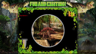Dinosaur Hunt Sniper Game FREE screenshot three