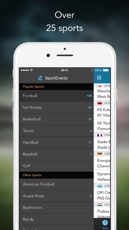 SportEventz - Live sport on TV