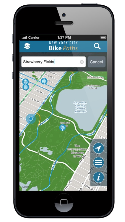 NYC Bike Paths Free screenshot-3