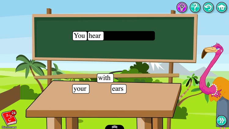 Body Parts in English - Kids Learn About Anatomy with Words and Pictures screenshot-3
