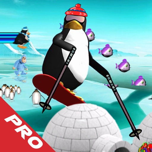 Super Penguin Ice Jump PRO