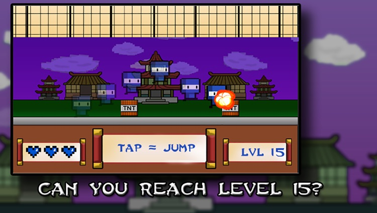 NINZ : Tiny Ninja Kill - hardest survival game ever