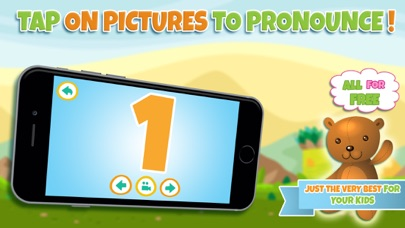 Learn numbers - Educational game for toddler kids & preschool children screenshot two