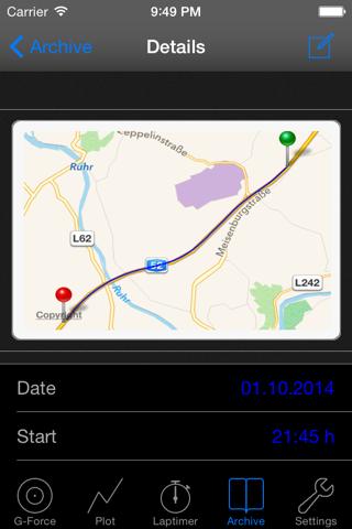 G-Force-Meter screenshot 3