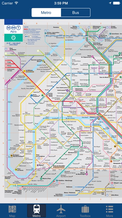 Paris Offline Map - City Metro Airport and Travel Plan screenshot-1