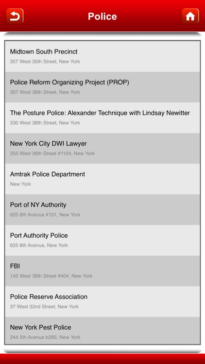 NYPD Precincts - NYC screenshot-4