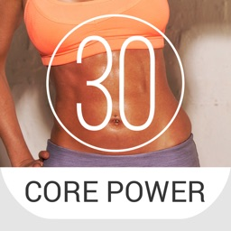 30 Day Core Power Workout Challenge for Strength and Stability