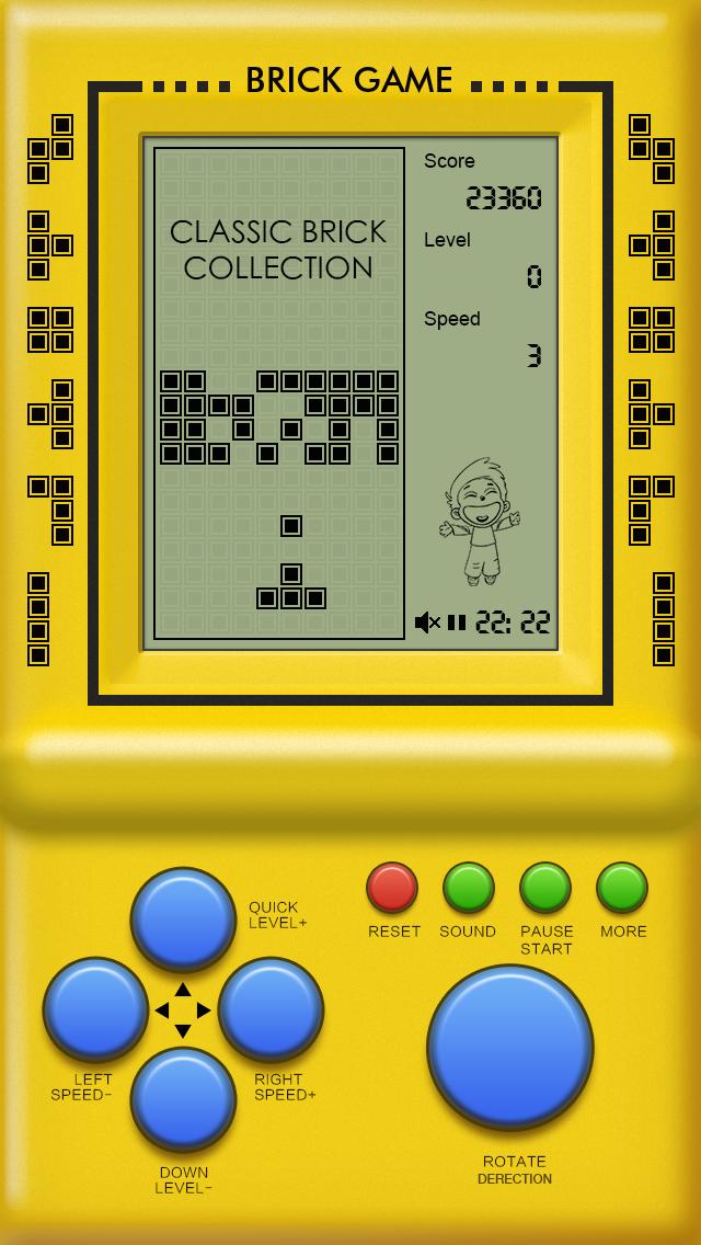 Classic Brick Game Collectionのおすすめ画像1