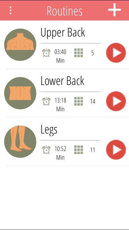 Back & Leg Stretching Exercises