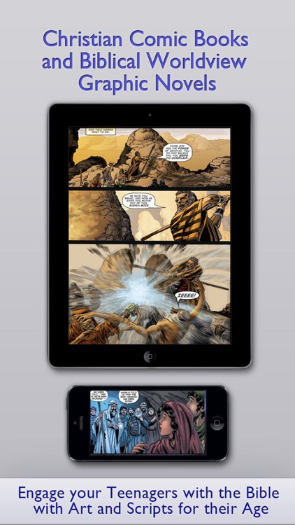 Teen's Bible PREMIUM – Christian Comic Books and Graphic Novels for Teenagers