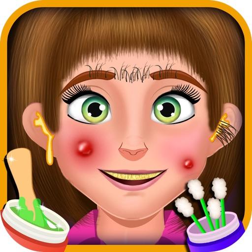 Hairy Salon - Face Makeover