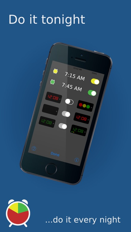 Sleep Defender The Kids Color Coded Alarm Clock screenshot-3