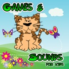 Funny Animals Games for Kids - Sounds and Puzzles for Toddlers icon