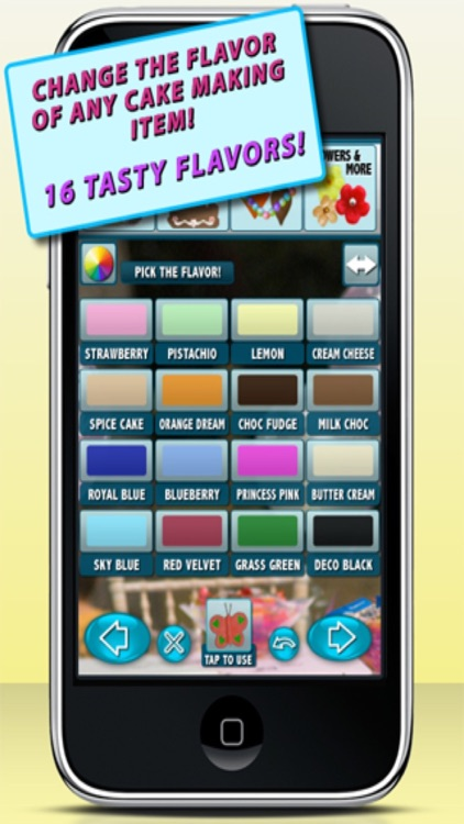 Cake Maker Game - Make, Bake, Decorate & Eat Party Cake Food with Frosting and Candy Free Games screenshot-3
