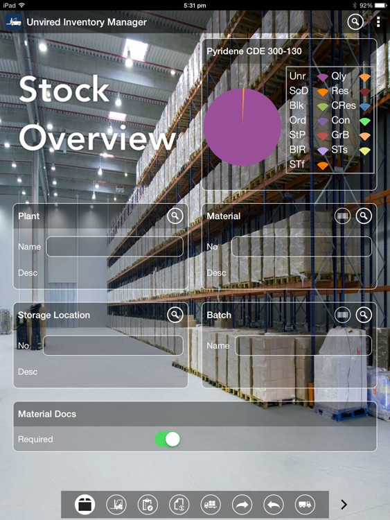Unvired Inventory Manager