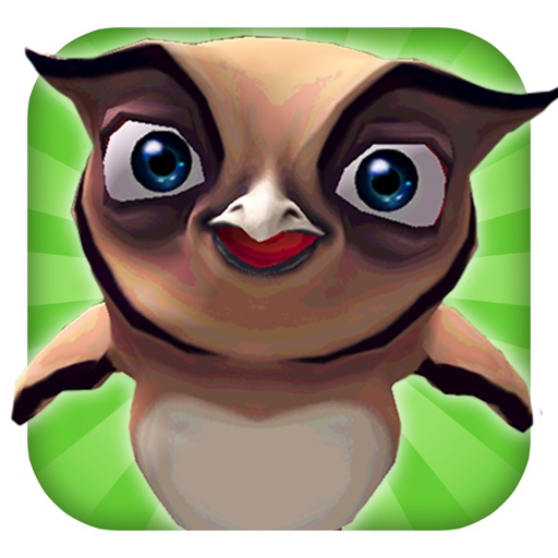 A Owl Run: 3D Bird Running Game - FREE Edition
