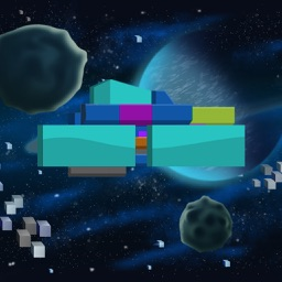 A Planet Shooter - Pixel Space Arcade Game