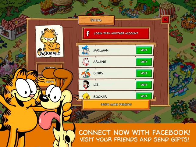 Garfield Survival Of The Fattest On The App Store