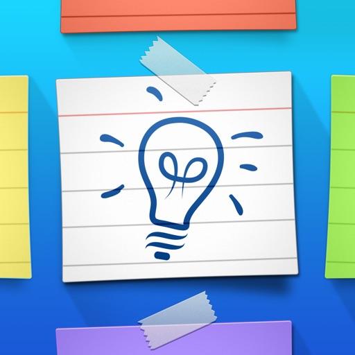 Index Card Board for iPad - Organize cards & brainstorm on a corkboard