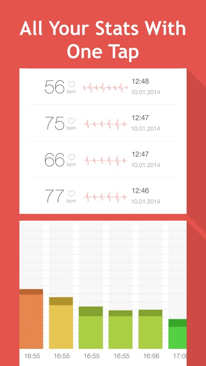 Heart Rate Monitor: measure and track your pulse rate screenshot-3
