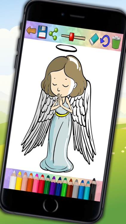 The bible for children - Drawings to paint and book to color screenshot-3