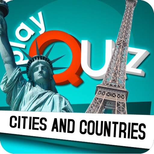 PlayQuiz™ Cities and Countries icon