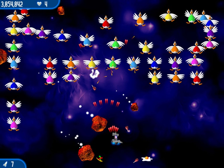 Chicken Invaders 2 HD screenshot-3