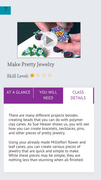 Creating Jewellery with Polymer Clay Canes screenshot-4